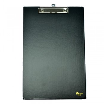EMI F4 Wire Clipboard (1340) - Black / 24pcs