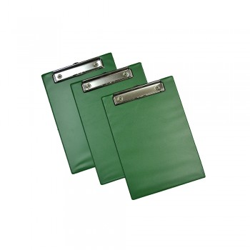 EMI A5 Wire Clipboard (1340) - Green / 12pcs
