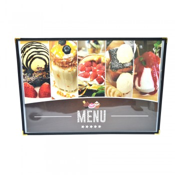 A3 Clear Case Menu (161) / 6 pcs