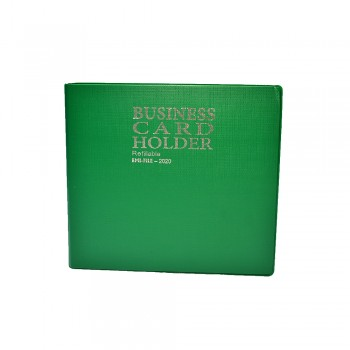 2020 Name Card Holder (10's refill) - Green