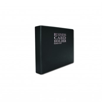 2020 Name Card Holder (10's refill) - Black