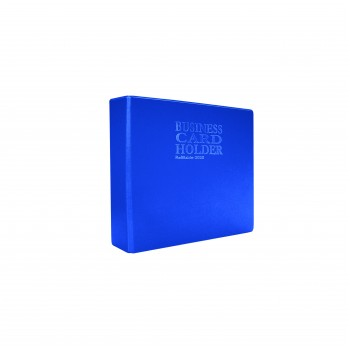 2020 Name Card Holder (10's refill) - Blue