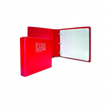 2020 Name Card Holder (10's refill) - Red
