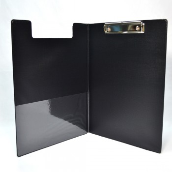 PVC Student File A4 (2100) - Black / 12pcs