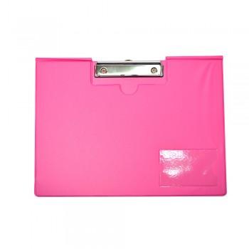 PVC Student File Landscape (2100) - Fancy Pink / 12pcs