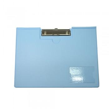 PVC Student File Landscape (2100) - Fancy Blue / 12pcs