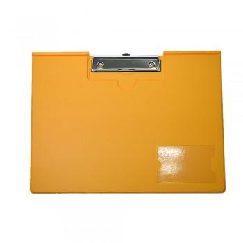 PVC Student File Landscape (2100) - Fancy Orange / 12pcs