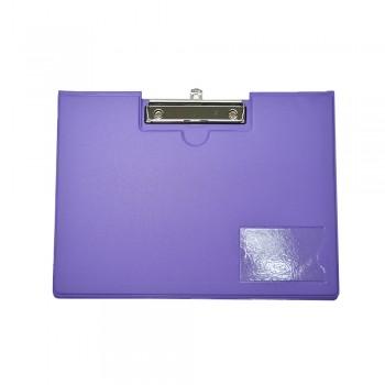 PVC Student File Landscape (2100) - Fancy Purple / 12pcs