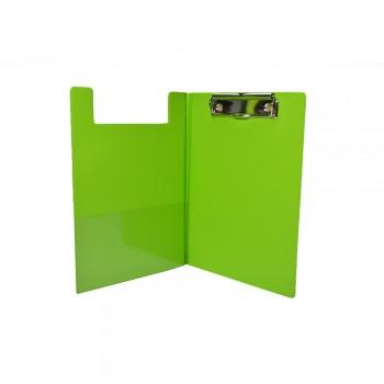 PVC Student File A5 (2100) - Fancy Green