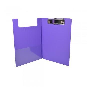 PVC Student File A5 (2100) - Fancy Purple