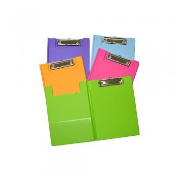 PVC Student File A5 (2100) - Mix Colour / 1 box