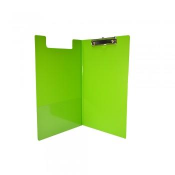 PVC Student File F4 (2100) - Fancy Green / 1 box
