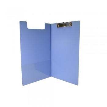 PVC Student File F4 (2100) - Fancy Blue / 1 box