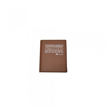 3080 Name Card Holder - Brown / 1 packet