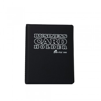 3080 Name Card Holder - Black / 12 pcs