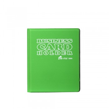 3080 Name Card Holder - Green  / 12 pcs