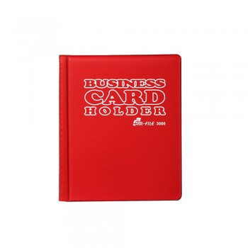 3080 Name Card Holder - Red  / 12 pcs