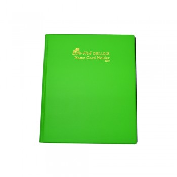 3320 Name Card Holder - Green / 1 packet