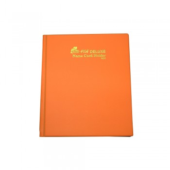 3320 Name Card Holder - Orange / 12 pcs