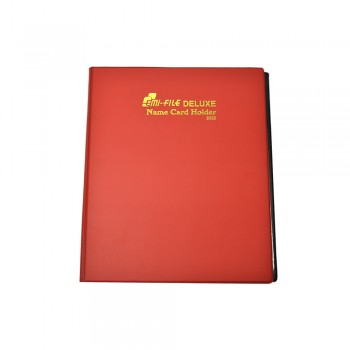 3320 Name Card Holder - Red Colour / 12 pcs