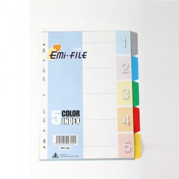 PP Colour Index (5 Colour) / 10 pads