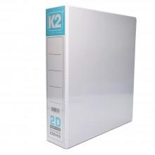 K2 50MM A4 2D Ring File / 20 pcs