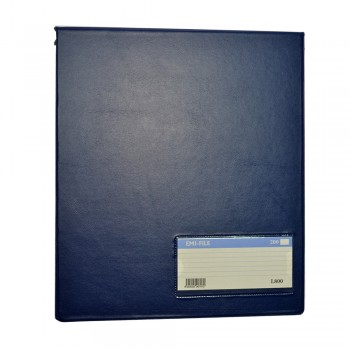 PVC Computer File (800) - Dark Blue / 20pcs