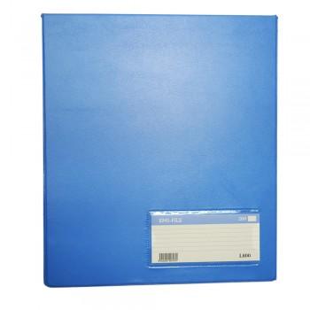 PVC Computer File (800) - Light Blue / 1 box
