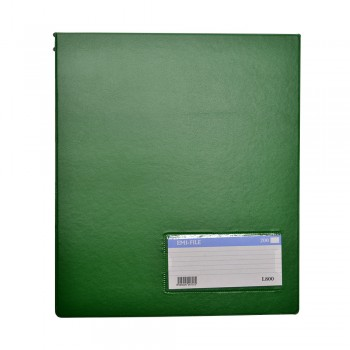 PVC Computer File (800) - Green / 20pcs