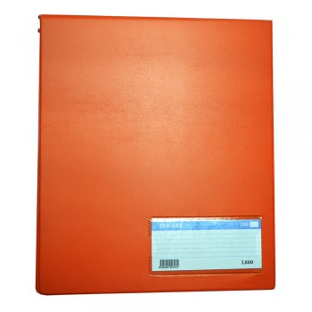 PVC Computer File (800) - Orange / 20pcs