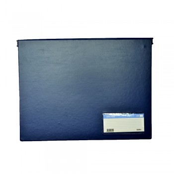 PVC Computer File (802) - Dark Blue / 20pcs