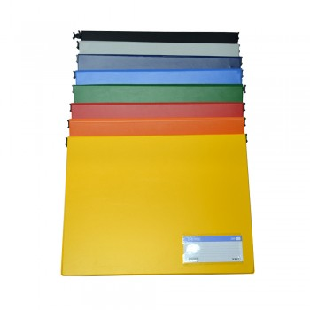 PVC Computer File (802) - Mix Colour / 20pcs