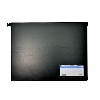 PVC Computer File (802) - Black / 20pcs