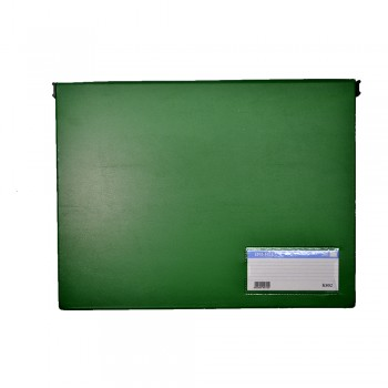 PVC Computer File (802) - Green / 20pcs