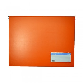 PVC Computer File (802) - Orange / 20pcs