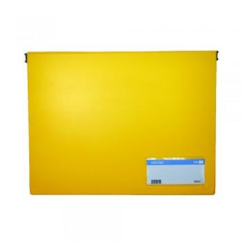 PVC Computer File (802) - Yellow / 20pcs