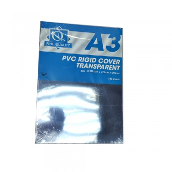 Rigid Sheet A3 (0.20mm) / 1 packet