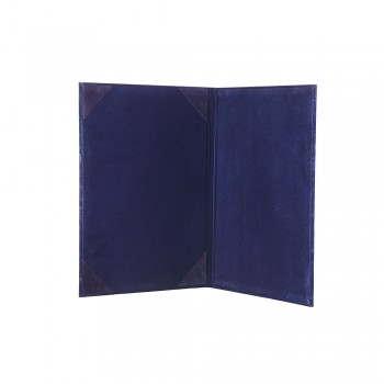 1168A Certificate Holder (Velvet) - Blue / 20pcs