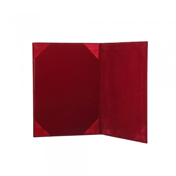 1168A Certificate Holder (Velvet) - Maroon / 20pcs