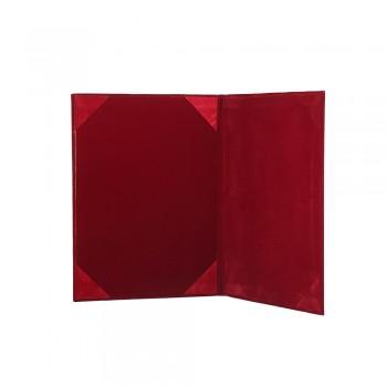 1168A Certificate Holder (Velvet) - Maroon / 20pcs