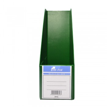 "PVC Magazine Box 4"" (Green) / 25pcs"