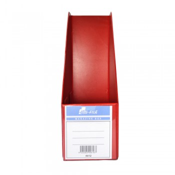 "PVC Magazine Box 4"" (Red) / 1 box"