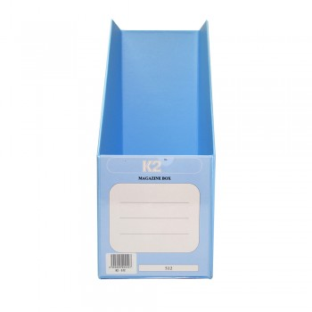 "PVC Magazine Box 5"" (Fancy Blue) / 1 box"