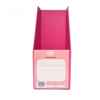 """PVC Magazine Box 5"""" (Fancy Pink) / 1 box"""