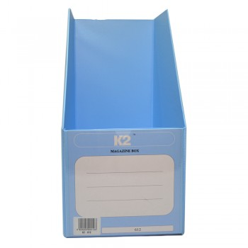 "PVC Magazine Box 6"" (Fancy Blue) / 25pcs"