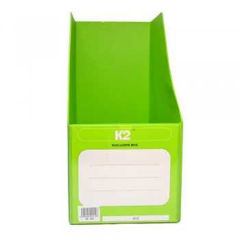 """PVC Magazine Box 6"""" (Fancy Green) / 25pcs"""