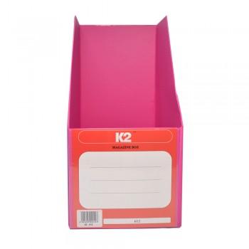 """PVC Magazine Box 6"""" (Fancy Pink) / 25pcs"""