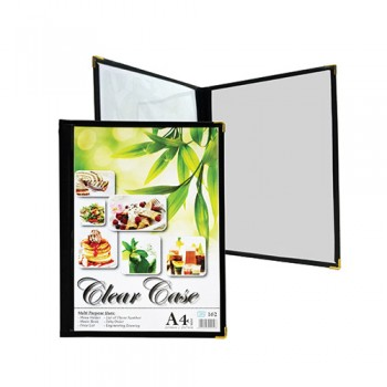 A4 Clear Case Menu ( 162 ) / 6 pcs