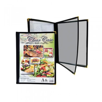 A4 Clear Case Menu ( 163 ) / 6 pcs