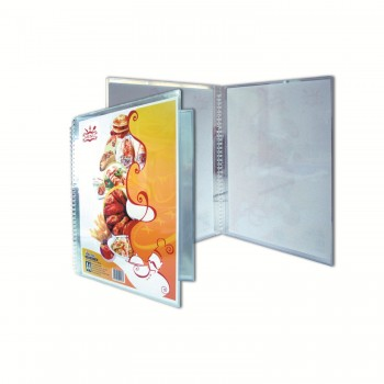 A4 Clear Case Menu ( 168 ) / 6 pcs